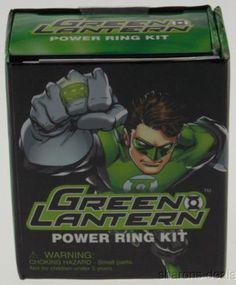 Lot of 2 Green Lantern Power Ring Mega Mini Kits DC Comics Gift Running Press - FUNsational Finds - 1
