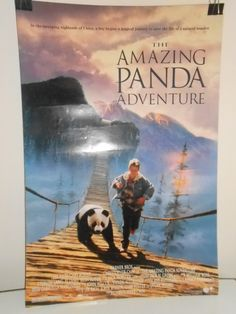 The Amazing Panda Adventure (1995) Double Sided Original Movie Poster 27x40