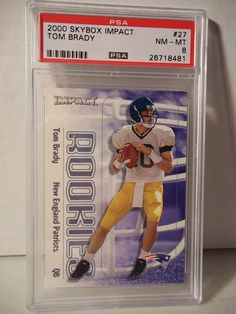 2000 SkyBox Tom Brady New England Patriots 27 Football Card for sale online Patriotic Quotes, Patriotic Crafts, Patriotic Party, New Patriots, New England Patriots Football, Nfl Sports, Sport Football, Sports Teams, Football Memes