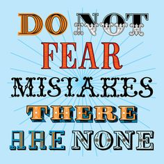 Do not fear.