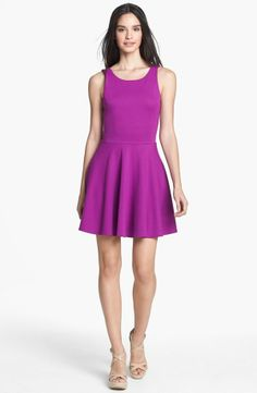 Perfect Purple Dress: Just add accessories to dress up or down!