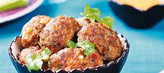Thaimaalaiset lihapullat | Pääruoat | Reseptit – K-Ruoka Baked Potato, Potatoes, Menu, Asian, Baking, Breakfast, Ethnic Recipes, Koti, Menu Board Design
