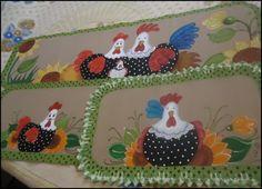tapete emborrachado pintado com croche - Pesquisa Google