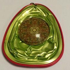 Pendentif en capsule de thé spécial t de couleur