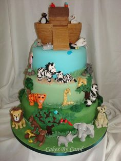 Noahs Ark Wedding cake                                                                                                                                                                                 More