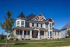 Home Exteriors & Custom Homes. | http://www.homechanneltv.com/photos-home-exteriors.html