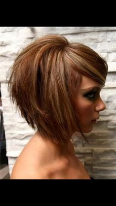 Love the style and her hair's texture and thickness looks similar to mine.