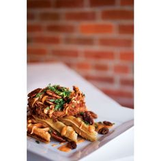 Chicken & waffles at Sage | Columbus Crave