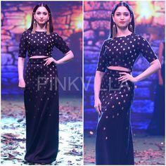 Yay or Nay : Tamannaah in Sourabh Kant at the Bollywoo X Baahubali 2 Fashion Show