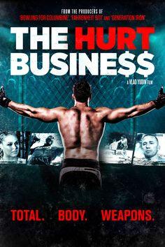 The Hurt Business Movie Poster - Kevin Costner, Chuck Liddell, Jon Jones  #TheHurtBusiness, #KevinCostner, #ChuckLiddell, #JonJones, #VladYudin, #Documentary, #Art, #Film, #Movie, #Poster