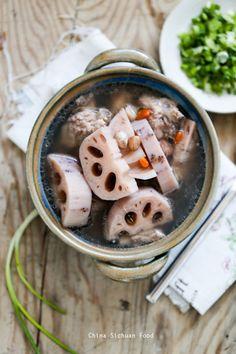 Lotus Root Soup – China Sichuan Food