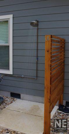 32 Outdoor Showers 🚿 Crestview Modern Craftsman