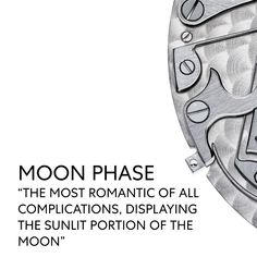The night sky on your wrist: The moon phase is known to be the most romantic of all complications. Watch Complications, Vacheron Constantin, Most Romantic, Moon Phases, Night Skies, Presents, Sky, World, Gifts
