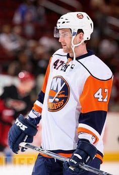 From The Hockey Junkies:  Andrew McDonald of the NY Islanders