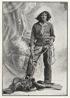 Black cowboy Nat Love aka Deadwood Dick, 1876