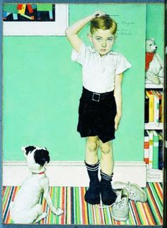 Taller~ By Norman Rockwell