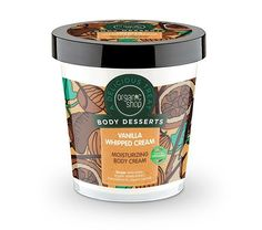 Body Desserts Βανίλια Σαντιγύ Ενυδατική κρέμα σώματος, 450 ml