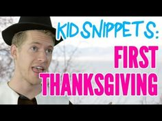 Kids are asked to describe what they think the 1st Thanksgiving would have been like. Adults reenact. ***HILARIOUS!***