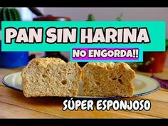 Pan Dulce, Pan Bread, Light Recipes, Cake Pops, Bread Recipes, Banana Bread, Food And Drink, Low Carb, Gluten Free
