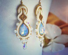 nikuske / Pre princeznú  #nausnice #earrings #slovenskydizajn #handmadepodnikanie #handmade #fashion