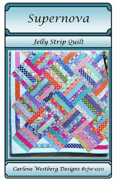 Jelly Roll quilt done in terrain by Kate Spain
