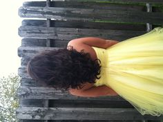 My hair for homecoming :)