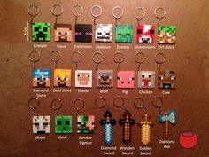 Minecraft Keychains | Community Post: 15 Incredibly Unique Minecraft Toys That'll Take Your Geekiness To New Levels