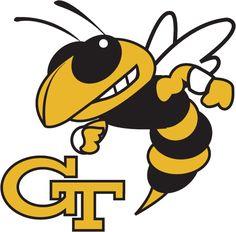 NCAA College Football Logos-ACC Conference ga. tech yellowjackets