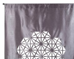 Rideau gris moyen DIAMANT 145 x 280 cm - Madura 59€