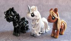 3 Pony Commission by DragonsAndBeasties.deviantart.com