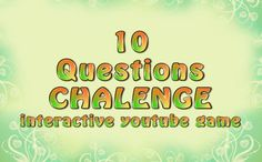 We would like to challenge you with 10 questions. Can you solve all of them?