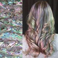 The Mother of Pearl Hair Trend Is Like Holographic Hair for Mermaids