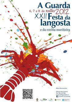 #Fiesta de la #langosta, #AGuarda, #Galicia