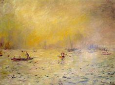 Pierre Auguste Renoir, Vista de Venecia, 1881. Carmen Pinedo Herrero: Olga en Venecia