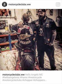 Biker Clubs, Motorcycle Clubs, Der Club, Biker Love, Angels Logo, Hell On Wheels, Biker Quotes, Hells Angels, Kustom Kulture