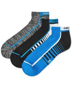 Calvin Klein Men's Coolpass Liner Socks 3-Pack