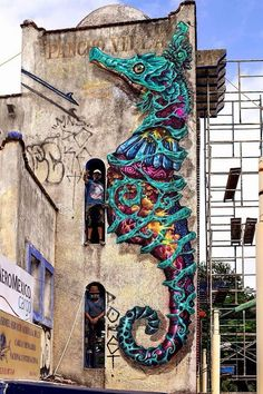 Amazing 19 Large Scale Street Art Murals - how to draw