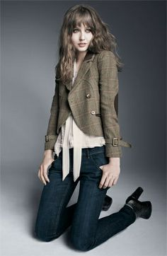 443fb5d0f Plaid Jacket, Tailored Jacket, Brown Jacket, Cleaning Out Closet, Corporate  Wear,