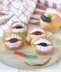 Belros Apple Bites. Receta Halloween- Cocinando con Catman.com