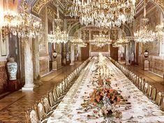 Экскурсия в Королевский дворец в Мадриде - Обеденный Зал Королевского дворца (Comedor)