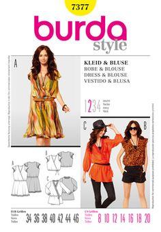 Simplicity Creative Group - Burda Style, Dress & Blouse