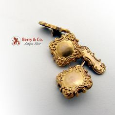 Etsy  SaLe sALe Vintage 10 K Gold Cufflinks 1900 by BerrysGems