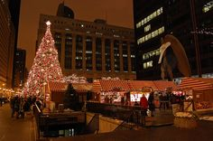 Looking for things to do in Chicago? Explore the must-dos and hidden gems on Viator and easily book Chicago tours, attractions, and experiences you'll never forget. Chicago Christmas Tree, Christmas Tree Lots, German Christmas, Christmas Night, Christmas Holidays, Christmas Markets, Christmas Things, Chicago Events, Chicago Hotels