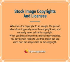 #Copyrights And #Licenses For Stock Images?
