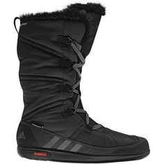 adidas OUTDOOR Choleah Laceup CP PL Boot - Women's by adidas. $149.95. The Choleah Laceup will keep you warm and dry during the winter seasons. The Climaproof+ membrane will keep water out and the rich fur lining will keep the heat in. Super High Traxion Rubber for optimal grip in winter conditions.