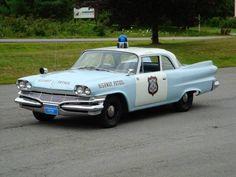 1960 Dodge Seneca 2-door Police Car