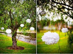 decoracion de bodas con papel1