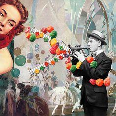 """The Trumpet Player"" by Eugenia Loli.  Portfolio    Store   Tumblr   Flickr   Facebook"