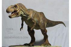 Tyrannosaurus Rex 1:8 unpainted and unassembled Resin Kit
