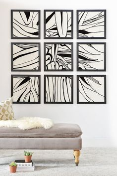 Elena Blanco 60s Framed Wall Mural | DENY Designs Home Accessories